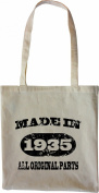 Mister Merchandise Tote Bag Made in 1935 All Original Parts 80 81 Shopper Shopping , Colour