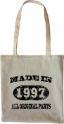 Mister Merchandise Tote Bag Made in 1997 All Original Parts 18 19 Shopper Shopping , Colour