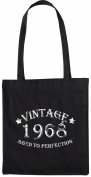 Mister Merchandise Tote Bag Vintage 1968 - Aged to Perfection 47 48 Shopper Shopping , Colour