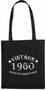 Mister Merchandise Tote Bag Vintage 1960 - Aged to Perfection 55 56 Shopper Shopping , Colour