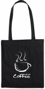 Mister Merchandise Tote Bag Coffee Kaffee Shopper Shopping , Colour