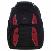 Targus TSB23803EU Drifter Laptop Computer Backpack fits 41cm laptops, Black/Red