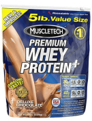 Premium Whey Protein Plus, Banana Cream - 2270 grammes by MuscleTech mm