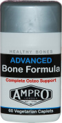 Ampro Advanced Bone Formula - Complete Ostero Support / Healthy Bones / 100% RDA of Vitamin D / Calcium / Magnesium / Vitamin K / Support Bone Health / Release Energy From Food