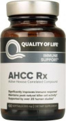 Quality of Life Labs AHCC Rx, Easy to Swallow, 500mg, 60 Vegetarian Softgels