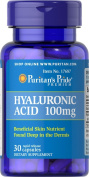Puritan's Pride Hyaluronic Acid 100 mg 30 Capsules 17687