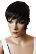PRETTYSHOP Clip in Bang Fringe Extensions Hairpiece Heat-resistant Synthetic Hair Div. Colours