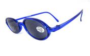Magnif Eyes California Reading Sunglasses Unisex +1.00 Clear Blue Magn. UV 400 RRP £19.95