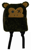 Brown Monkey Animal Fuzzy Kids Mini Backpack