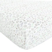 Babyletto Fitted Crib Sheet, Tranquil Woods