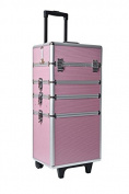 Mollycoddle 4-in-1 Pink Beauty Trolley