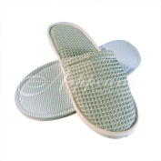 Women's Waffle Slippers, Close Toe (3 Pairs)