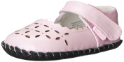 Pediped Katelyn, Girls Standing Baby Shoes, Pink (Pearl Pink), 6-12 months Baby UK