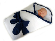 LUXURY WARM NEWBORN Swaddle Wrap Blanket, duvet, Sleeping Bag satin cotton