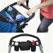 Stroller Buggy Cup Holder Storage Bag