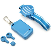 Kids Safety Wristband Anti-Lost Alarm Device Protecting Child Pet Outdoor Blue