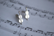 Cello Cufflinks Designed BY musicians FOR musicians