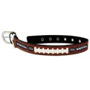 NFL Baltimore Ravens Leather Dog Collar