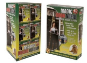 Magic Door Curtain Mesh - Magnetic Fastening Hands Free Insect Bug Fly Screen