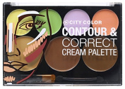 CITY colour Cream Contour & Corrector Palette