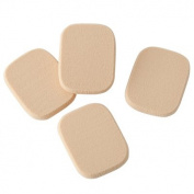 MUJI Japan Sponge Powder Puff 4pcs