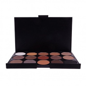 15 Colour Pro Warm Eyeshadow Cosmetics Eye Shadow Palette