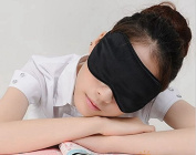 iSleep -- Silk Eye Sleep Mask Lavender Blindfold Eyeshade