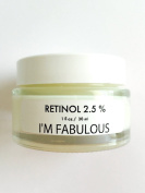 Retinol 2.5%, for Wrinkles, Fine Lines, Dull Skin, Acne