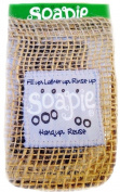 Silver Stream & Natural, Burlap & Jute Soapie, Soap Saver Soap Sack