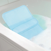 Home Spa Bath Lumbar Cushion - Custom Back Comfort Relaxation In The Tub