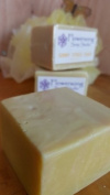 Sunny Citrus - Tangerine, Lime, Patchouli Handmade Soap 160ml - Flowersong Soap Studio. Simple. Natural. Handmade. It's Music to Your Skin. Moisturising Formula for All Skin Types