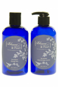 Blossom and Pearl French Lavender Cosmetics Bundle - Lavender Shower Gel, Lavender Hand and Body Lotion. Dead Sea Salt products.