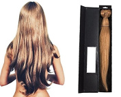 100% Human Hair Extensions 46cm (Strawberry Blonde BR65