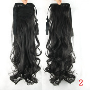 Long Wavy Synthetic Hair Ponytail Drawstring Clip in Hair Ponytails
