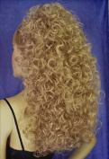 BONNIE Curly Banana Clip Hairpiece by Mona Lisa - 24 Golden Ash Blonde