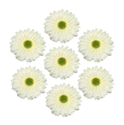 HH Building Bling Large Floral Gerber Daisy Artificial Flowers Hair Clips Head Wear Corsage Accessories