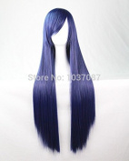 SMILE Wig New Style 80 Cm Straight Synthetic Hair Lady's Navy Beautiful Lolita Anime Party Costume Harajuku