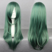 SMILE Janpense Style 68cm Curly Long Green Cosplay Wig