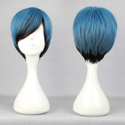 SMILE Synthetic Hair 30cm Short Mixed Colour Cosplay Wig