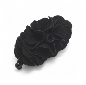 Meilliwish Flowers Rose Hair Clip Ponytail Holder(H41)