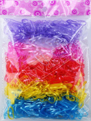 1 Bag Elastic Hair Bands Rubber Hairband Rope Baby Girls Headwear Ponytail Holder Kids for Children Girl Ties Styling Tools