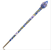 Fashion Hair Decor Chinese Traditional Style Women Girls Hair Stick Hairpin Hair Making Accessory with Lotus 3PCS/package