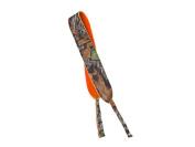 Orange and Mossy Oak Neoprene Reversible Sunglasses Strap