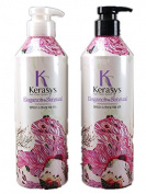 Kerasys Elegance Sensual Perfumed Shampoo+Conditioner 600mlx2
