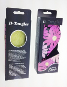 D-tangler Hair Brush - Big Pink Flowers