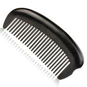 Precious Natural Ebony Wood (Black Sandalwood) Massage Comb, Anti Static Pocket Wooden Comb 13cm