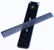 Professional Stainless Steel Comb 17.5cm long, 31g in weight - US Seller WM0017
