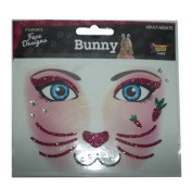 Glittered Face Designs (BUNNY