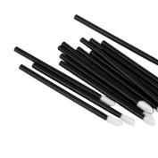 100pcs Disposable Lipbrush Lip Gloss Brush Wands Lipstick Gloss Applicators Makeup Tools