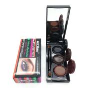 3 Colour in 1 Brown + Black + Coffee Gel Eyeliner Make Up Water-proof and Smudge-proof Cosmetics Set Eye Liner Kit